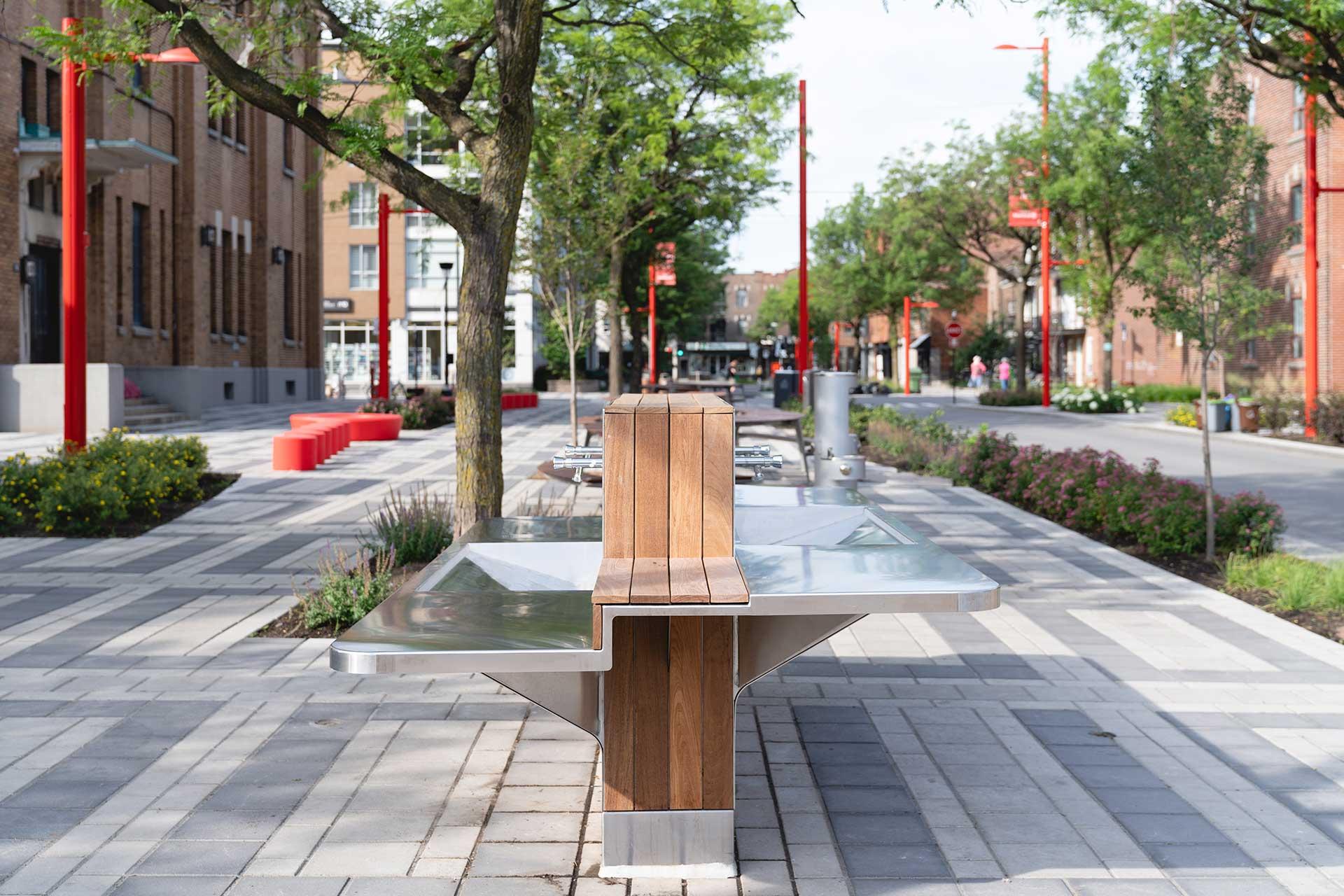 Avenue Shamrock fontaine