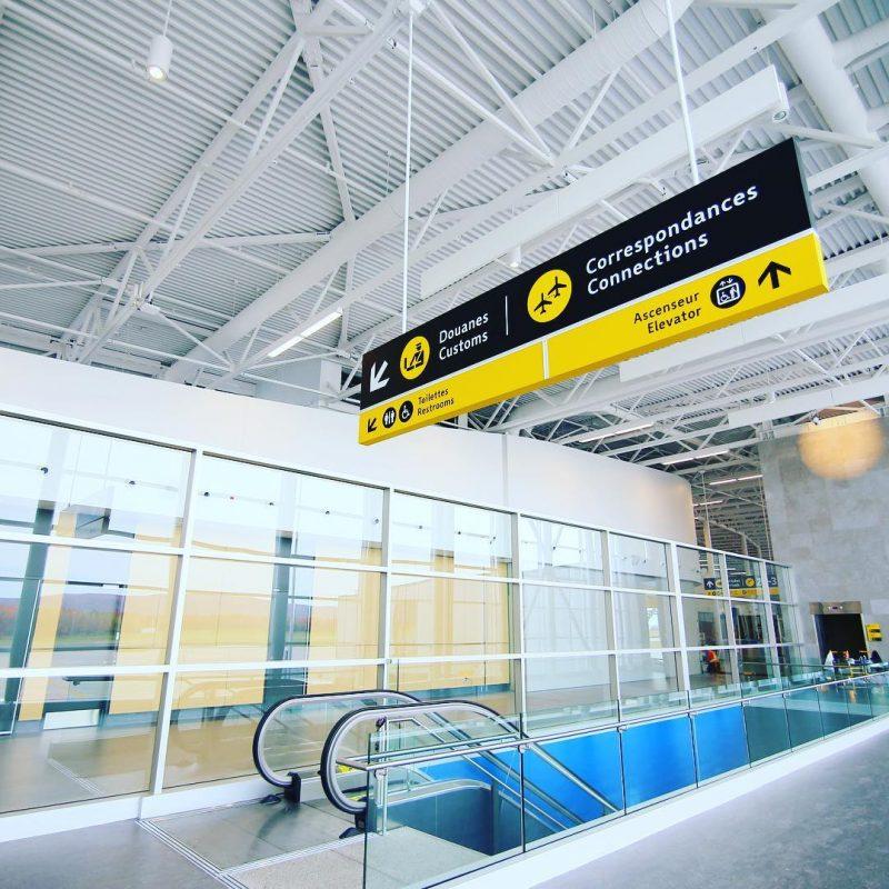 YQB Airport