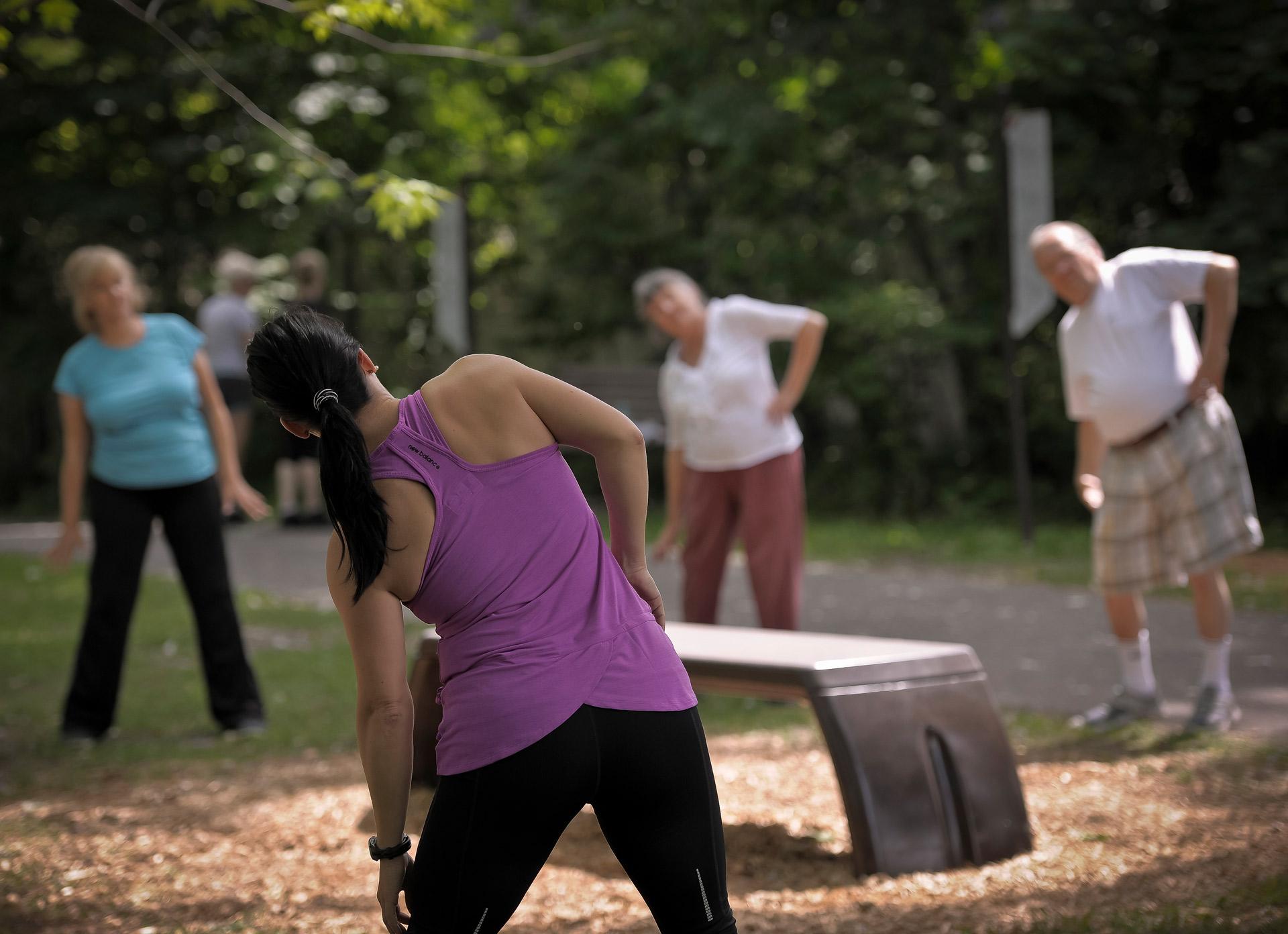 Group exercice park
