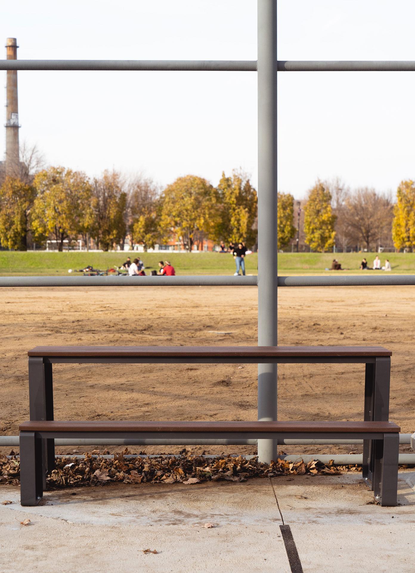 Groupe exercice sport extérieur